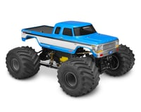 JConcepts 1979 F250 SuperCab Monster Truck Body w/Bumpers (Clear) (Traxxas Stampede)
