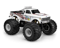 JConcepts 1970 Chevy K10 USA-1 Edition Monster Truck Body (Clear) (Tamiya Clod Buster)