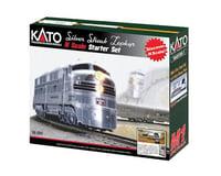 Kato N Silver Streak Zephyr Starter Set, CB&Q