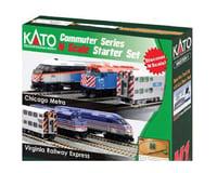 Kato HO F40PH Starter Set Metra