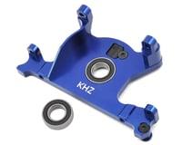 King Headz Traxxas Slash 4x4 LCG/Rally Aluminum Motor Mount w/Bearing (Blue)