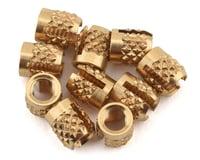 Klinik M3 Thread Repair Inserts (Brass) (10) (Schumacher Cougar Laydown)