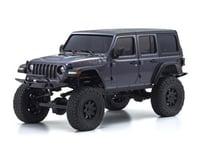 Kyosho MX-01 Mini-Z 4X4 Readyset w/Jeep Wrangler Body (Grey)