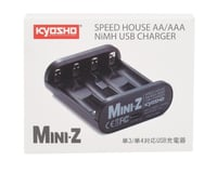 Kyosho MA-020 Speed House Mini-Z AA & AAA NiMh USB Charger