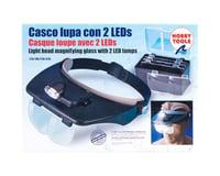 Hands Free Magnifier Glasses w 2 LED Lights