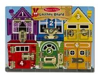 Melissa & Doug  Latches Board