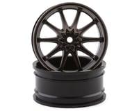 Losi 54x26mm Volk Racing CE28N Front Wheels (Gun Metal) (2)