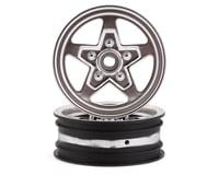 Losi 22S Drag Front Wheel (Chrome) (2)