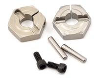 Losi Lasernut U4 Aluminum Clamping Wheel Hex Set (2)