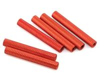 Lumenier 35mm Aluminum Textured Spacers (6) (Orange)