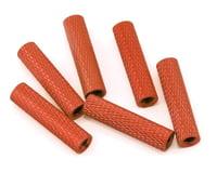 Lumenier 20mm Aluminum Textured Spacers (6) (Orange)