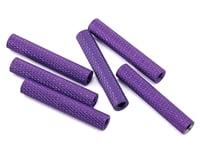 Lumenier 28mm Aluminum Textured Spacers (6) (Dark Purple)