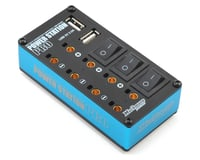 Muchmore Power Station Pro Multi-Distributor Box w/USB (Blue)