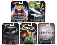 Mattel 1/64th Hot Wheels Movie Vehicles Assortments (1)