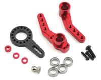 MST RMX 2.0 S Aluminum Steering Arm Set (Red)