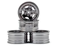 "MST CMX 236 1.9"" Wheel (Silver Black) (4) (+5)"