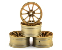MST GTR Wheel Set (Gold) (4) (+9 Offset)