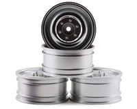 "MST CMX 60D 1.9"" Crawler Wheel (Flat Silver) (4) (+5)"