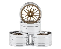 MST S-GD 21 Wheel Set (Gold) (4) (Offset Changeable)