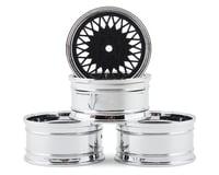 MST 501 Wheel Set (Flat Black) (4) (Offset Changeable)