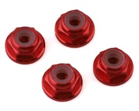 NEXX Racing 2mm Lock Nut (Red) (4) (Kyosho MR-03)