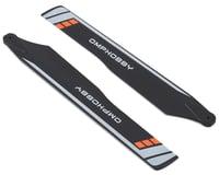 OMP Hobby M2 V2 175mm Main Blades (Orange)