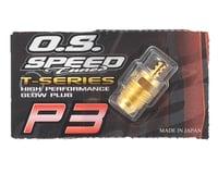 """O.S. P3 Gold Turbo Glow Plug """"Ultra Hot"""""""