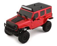 Panda Hobby Tetra X1 1/18 RTR Scale Mini Crawler w/2.4GHz Radio (Red)
