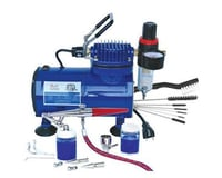 Paasche H-3AS Single Action Airbrush & D500SR Compressor Combo