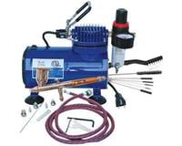 Paasche Airbrush & Compressor Package :TG3F, D500SR, & AC7