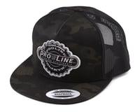 Pro-Line Manufactured Trucker Snapback Hat (Dark Camo)