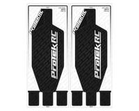ProTek RC Tekno EB410 Thick Precut Chassis Protective Sheet (Black) (2)