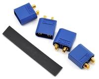 """ProTek RC 4.5mm """"TruCurrent"""" XT90 Polarized Device Connectors (4 Male)"""
