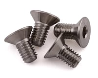 """ProTek RC 3x6mm """"Grade 5"""" Titanium Flat Head Hex Screw (4) (XRAY RX8 2014)"""