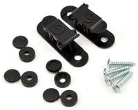 Random Heli 5.5mm-6.5mm Skid Clamp Assembly (Black)
