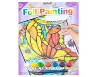 Royal Brush Manufacturing Foil Painting by Number Butterflies