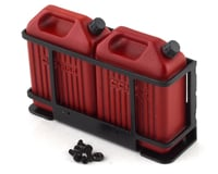 RC4WD CChand 1/10 Dual Portable Jerry Cans w/Mount (Red) (2)