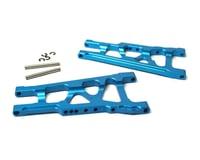 Racers Edge Slash 4WD Aluminum Front/Rear Suspension Arms (pr)- Blue
