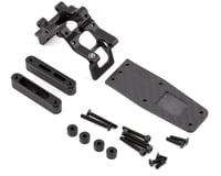 R-Design Losi 22S Drag Wheelie Bar Mount (Black)
