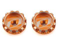Revolution Design XB2 Battery Thumb Nut (2pcs/orange) (XRAY XB4 2017)