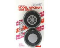"""Robart U-325 Scale Wheels,3-1/4"""""""