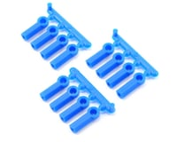RPM Heavy Duty 4-40 Rod Ends (Blue) (12) (Team Associated RC10 GT)