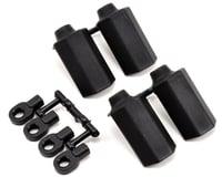 RPM Shock Shaft Guards (Black) (4) (Team Durango DESC210R)