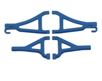 RPM Front Upper & Lower A-Arms (Traxxas 1/16 E-Revo) (Blue)