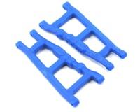 RPM Traxxas Rustler 4x4 Slash Front or Rear A-arms (Blue)