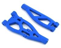 RPM ARRMA Kraton/Outcast Front Upper & Lower Suspension Arm Set (Blue)