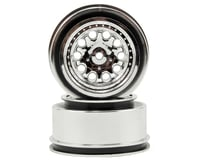 "RPM 12mm Spline Drive ""Revolver"" Short Course Wheels (Chrome) (2) (Slash Rear)"