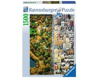 Ravensburger Divided City New York, 1500-Piece Puzzle