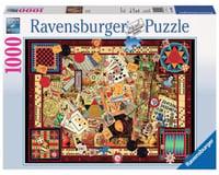 Ravensburger Vintage Games 1000 pc