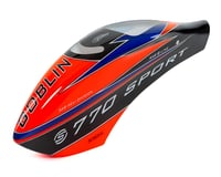 SAB Goblin 770 Sport Airbrush Canopy (Orange)